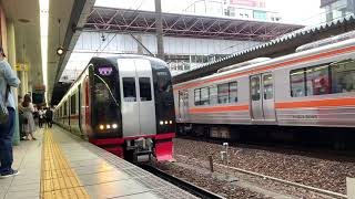 【名鉄1700系-2300系】157レ快特新鵜沼行き 1703F2333号車 金山発車シーン