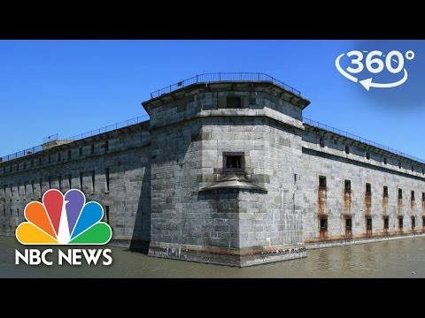 Spooky 360 Video Of Fort Delaware Paranormal Tour | 360 Video | NBC News