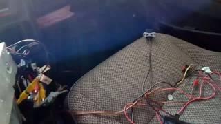 Камера заднего хода с али, подключение провода с тюльпана