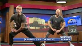 WEAU Workout Wednesday Sweatpants Challenge