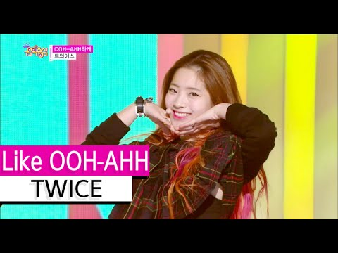 [HOT] TWICE - Like OOH-AHH, 트와이스 - OOH-AHH하게, Show Music core 20151107
