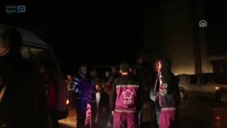مصر العربية |  سوريا.. الدفعة الثالثة من مهجَّري برزة بدمشق تصل محافظة إدلب