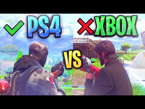 Ps4 and xbox fortnite