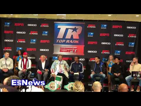 Bob Arum Goes Off On Don King For Supporting Donald Trump EsNews Boxing