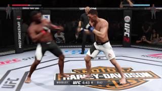 EA SPORTS™ UFC® 2 Nick Diaz vs Tyrone Woodley