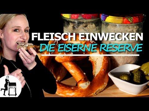 Fleisch im Glas / Hackfleisch einwecken / einfach & schnell / Rezept / Die Frau am Grill