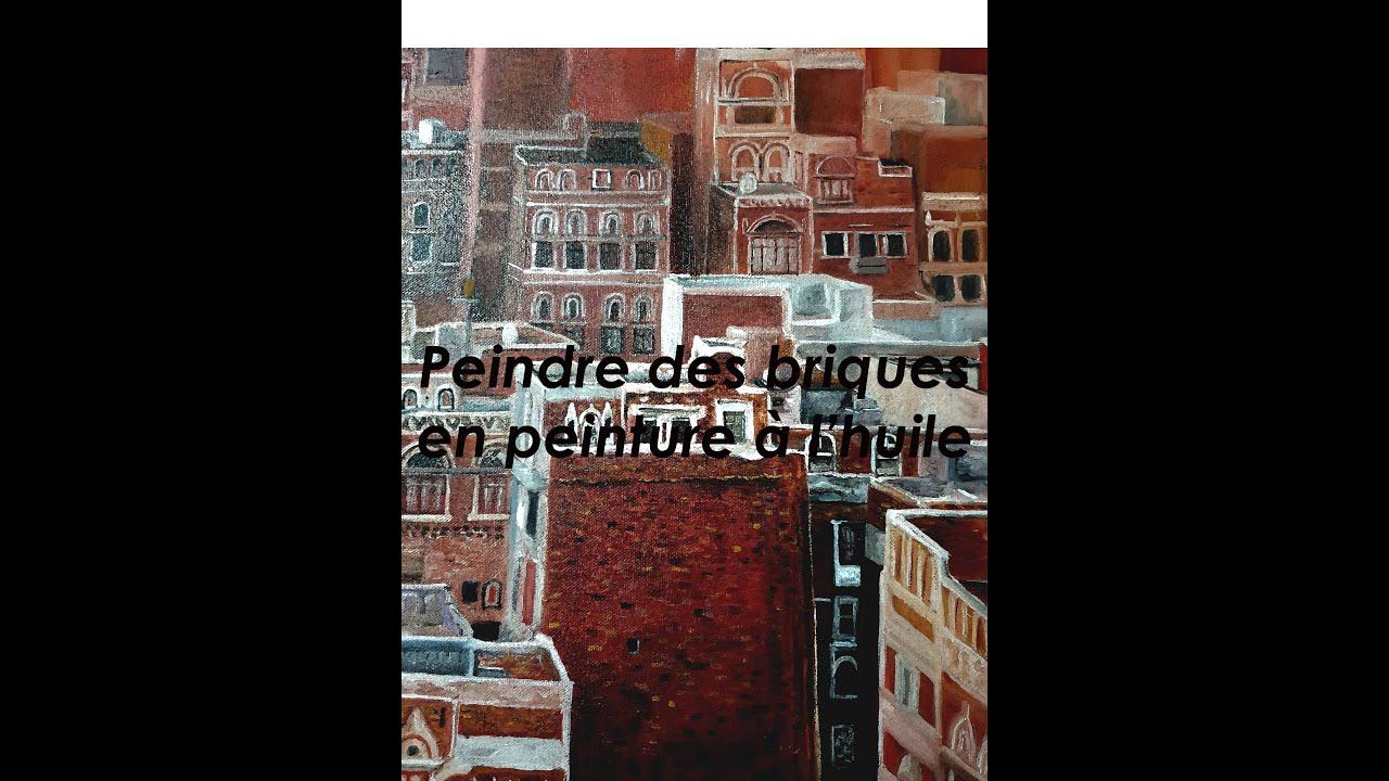 Peindre Un Mur De Brique tuto peinture à l'huile - peindre un mur en brique
