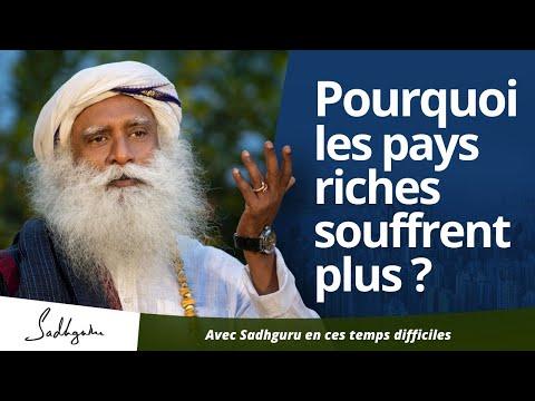 Pourquoi les pays développés souffrent-ils de leur richesse ?   Sadhguru Français