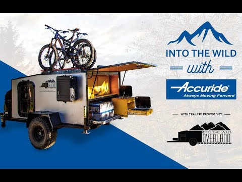 Micro Camping Trailers || Into The Wild  Overland || Accuride Heavy Duty Slides