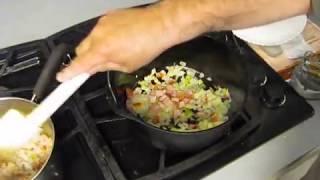 Quick Jambalaya Cornbread Black Eye Peas