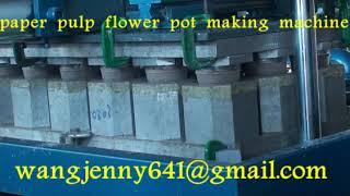 Longkou Fuchang paper pulp flower pot making  machine-whatsapp:0086-15153504975