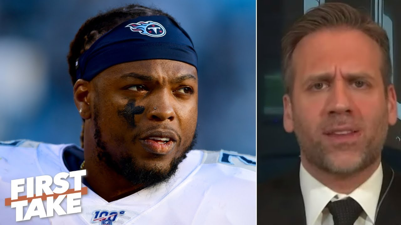 Max Kellerman: The Titans shouldn't sign Derrick Henry to a long-term deal | First Take
