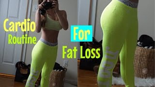 My fasted cardio routine! For Fat Loss 2016