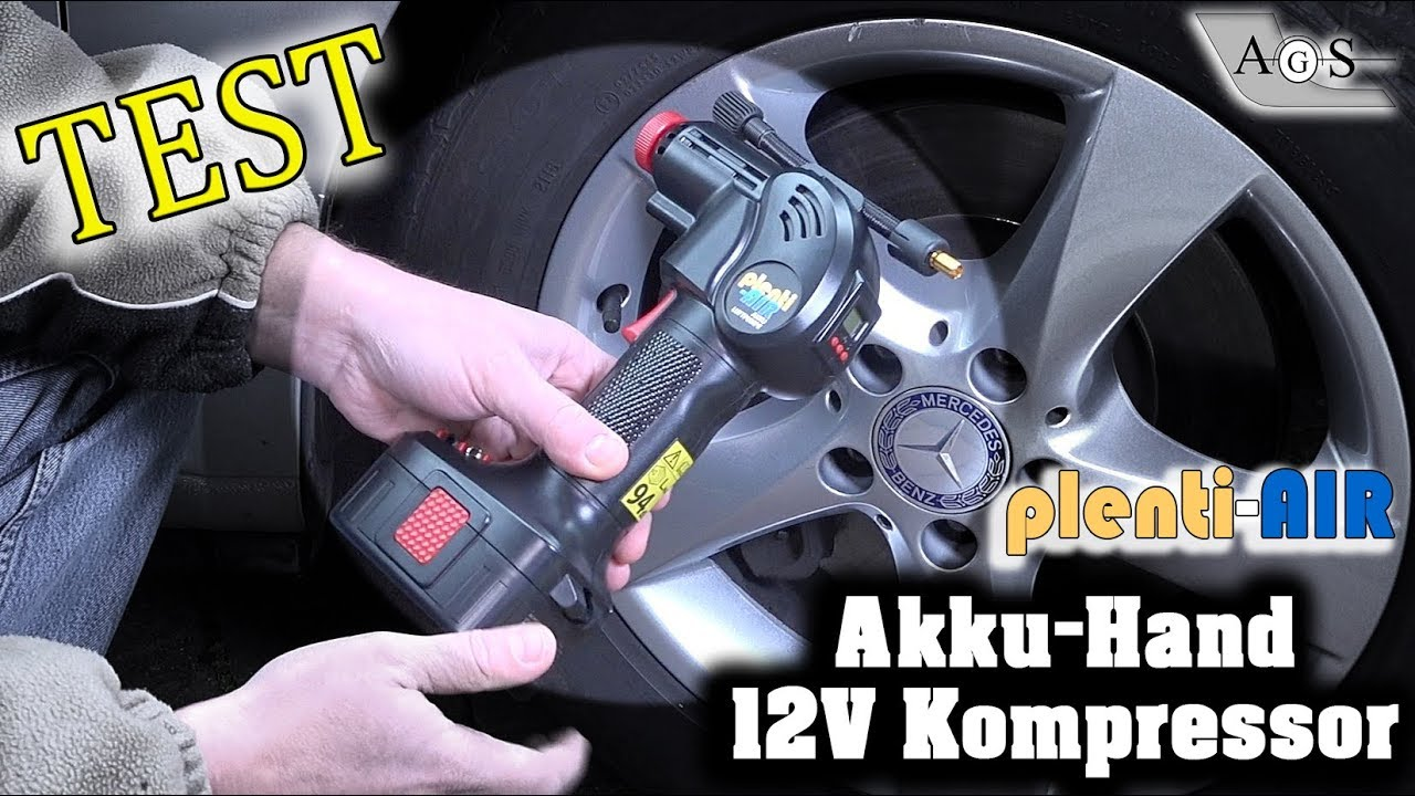 tech test akku 12v hand kompressor plenti air youtube. Black Bedroom Furniture Sets. Home Design Ideas