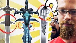 Prawdziwi wojownicy oceniają miecze z gier