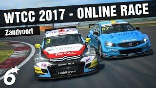 RaceRoom   WTCC 2017 ONLINE RACE - Zandvoort