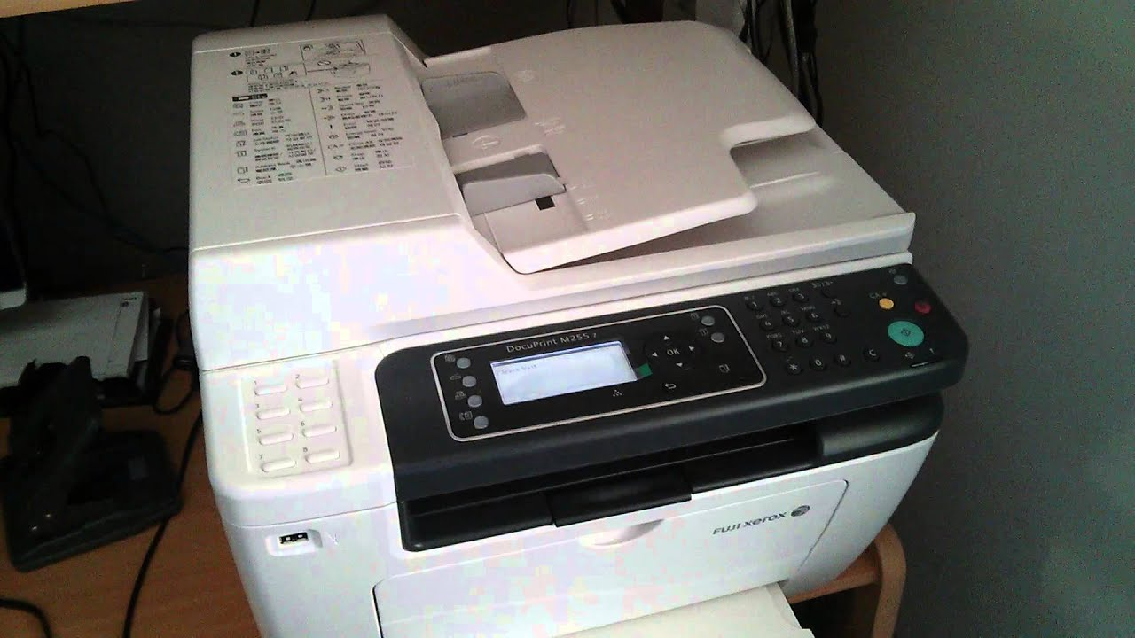 Fuji Xerox Printer Beeps Annoyingly Youtube