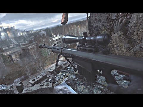 Call Of Duty: Modern Warfare PS4 Remaster - Chernobyl Sniper Mission (No Commentary) PS4 Pro