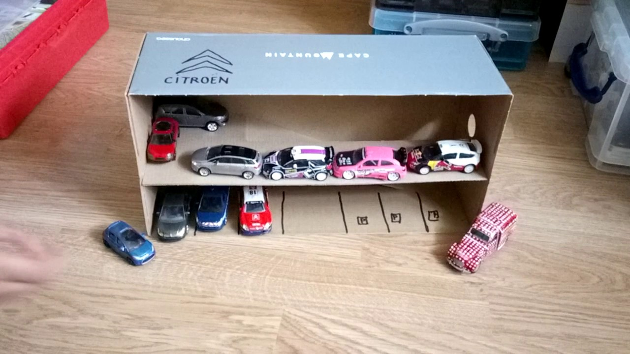 Garage Citroën Et Voitures Norev Partie 1 Youtube