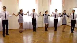 Весенний Бал 2013. Уроки танца. Бранль.