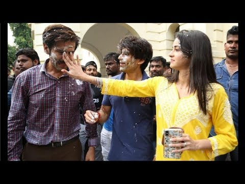 Kartik Aaryan And Ananya Pandey Looking So Cute At Pati Patni Aur Woh Wrap Mp3
