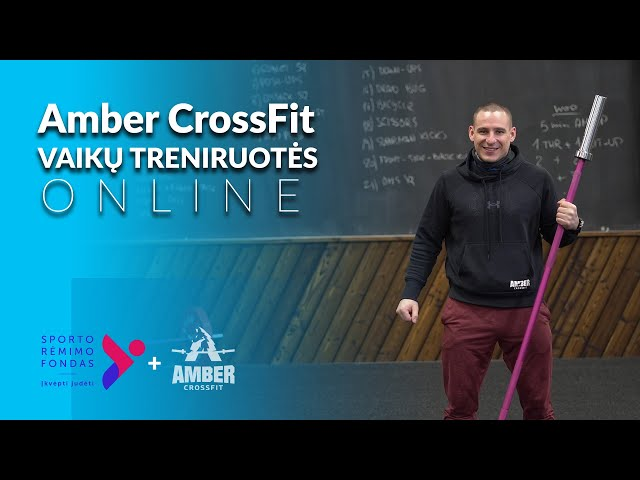 Amber CrossFit vaikų treniruote nr 27