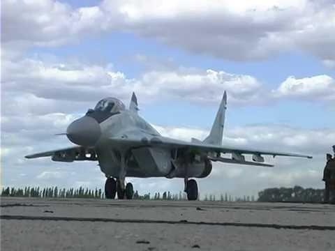 МиГ-29 Васильков день// MiG-29 Vasilkiv AFB  day flights