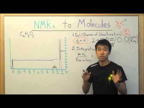NMR Made Easy! Part 6A - NMR to Molecule Structure - Organic Chemistry
