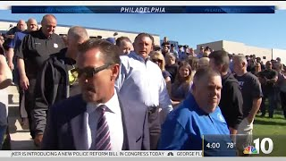 Police Union Defends Inspector Charged With Protest Assault | NBC10 Philadelphia