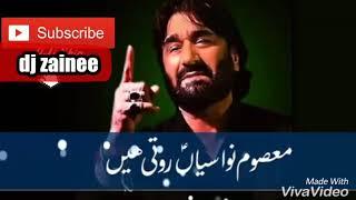 Muslim diyan dhiyan saraiki noha of Nadeem sarwar lyrical WhatsApp status video