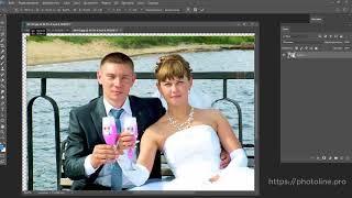 Свадебный фотоколлаж часть первая