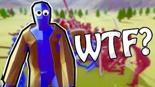 EL INCREIBLE HOMBRE CAGA GALLINAS !! | Totally Accurate Battle Simulator