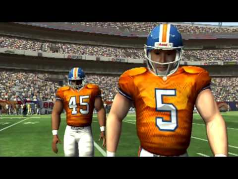 THIS FAKE JOHN ELWAY IS NO GOOD- LETS PLAY MADDEN 05 MADDEN MOMENTS