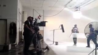 Iyanya ft. Wizkid Sexy Mama Video Shoot