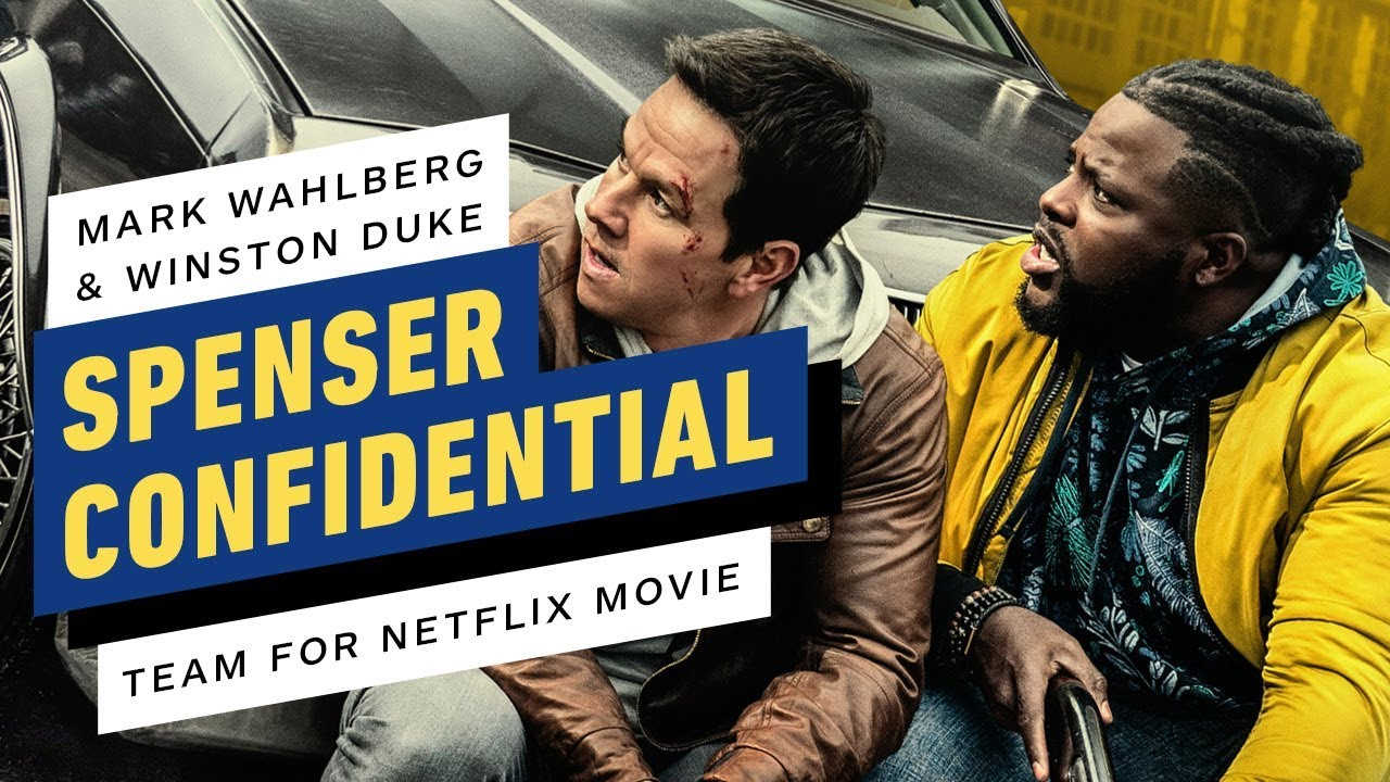 Spenser Confidential Mark Wahlberg Winston Duke On Their Netflix Thriller Youtube