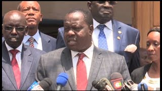 Dates for KCPE, KCSE will not be altered - CS Fred Matiang'i