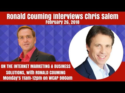 Ronald Couming interviews Chris Salem, World-Class Speaker and Author, February 26th, 2018