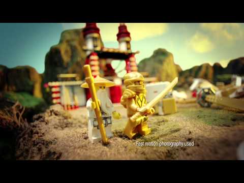 2013 LEGO Ninjago Temple Of Light And LEGO Ninjago Garmatron