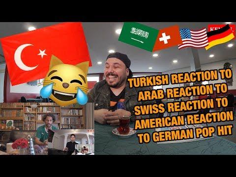 TURKISH GUY REACTS TO REACTIONS TO GERMAN POP HIT I Namika - Je ne parle pas francais feat. Black M