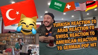 TURKISH GUY REACTS TO REACTIONS TO GERMAN POP HIT I Namika - Je ne parle pas francais feat. Black M