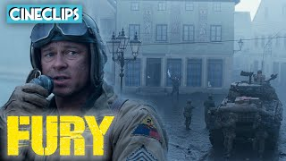 Seizing Control Of A German Town | Fury | CineClips Thumb