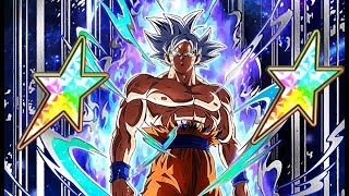 UNBELIEVABLE, UNDENIABLE! 100% RAINBOW STAR ULTRA INSTINCT GOKU SHOWCASE! (DBZ: Dokkan Battle)