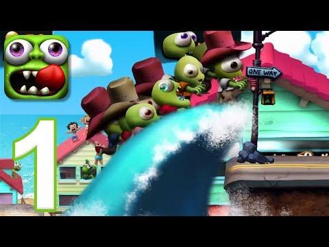 Zombie Tsunami - Gameplay Walkthrough Part 1 (iOS, Android)