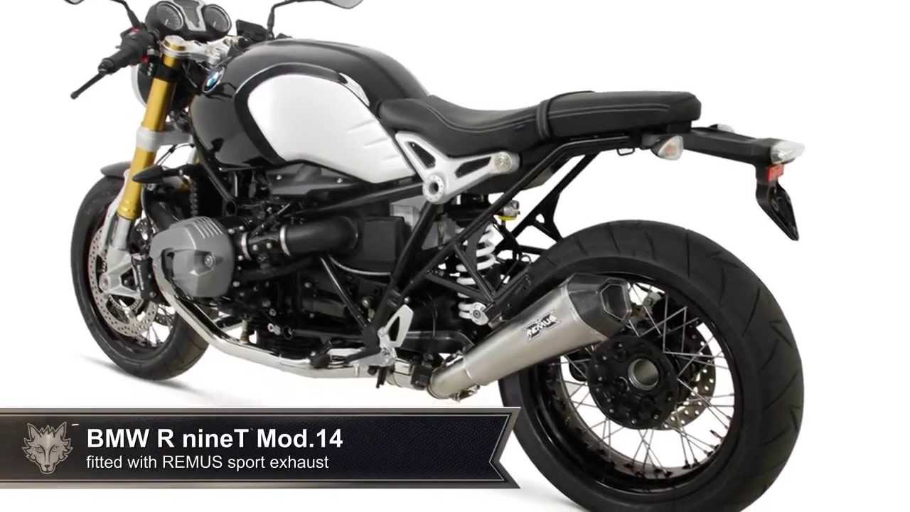 BMW R nineT Mod 2014 REMUS HyperCone sport exhaust system