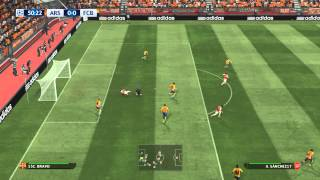 PES 2016 [PC] UEFA CHAMPIONS LEAGUE-ARSENAL X BARCELONA FASE DE GRUPOS NARRAÇÃO MICHEL ÁTILAS
