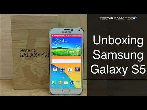 Unboxing Samsung Galaxy S5   Primeras Impresiones en Español