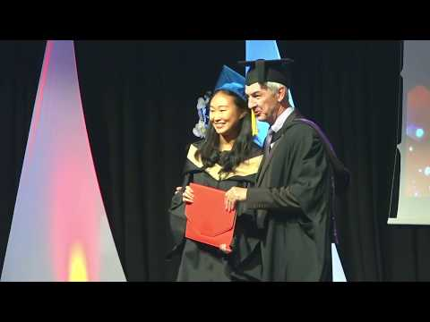 Postgraduate Graduation Ceremony 29 November 2017 - Les Roch