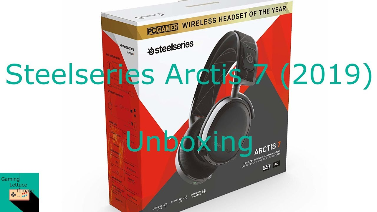 d93cf97a796 Steelseries Arctis 7 (2019 Edition) Unboxing and Improvements. Gaming  Lettuce Tomato