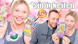 JAPAN CANDY CHALLENGE MIT ALEX | Verrücktes Getränk | Isabeau