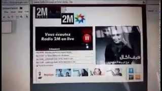 Suad Amjahdi on Radio 2M سهرة و لا احلى و لا اجمل  مع الإعلامي يوسف بحار على راديو